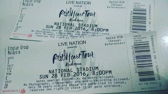 Esok, bermula travelogue GILA TRAVEL ke Singapura sempena Konsert Madonna Rebel Heart Tour. Vlog kami macam biasa akan upload di Youtube Channel Budiey.com Terima kasih kpd penganjur sudi jemput Budiey.com. Terima kasih juga kepada Travel Recommends su