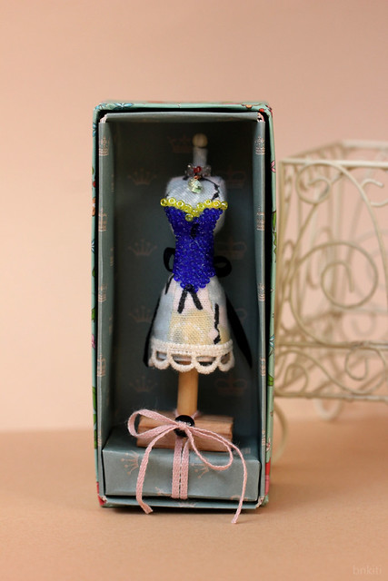 OOAK handmade mannequin with box