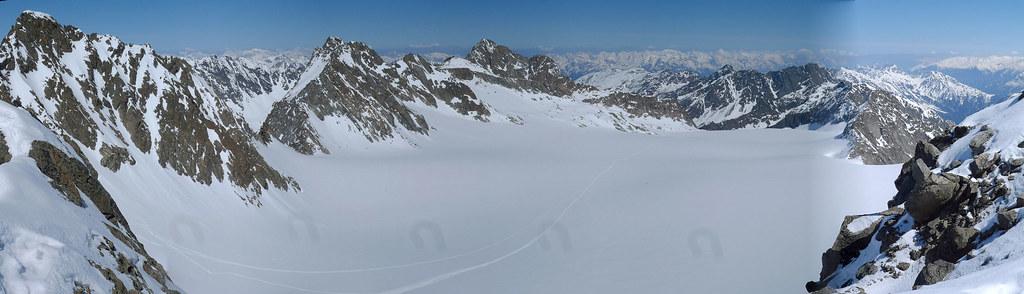 Wildes Hinterbergl Stubaiské Alpy Österreich foto 21