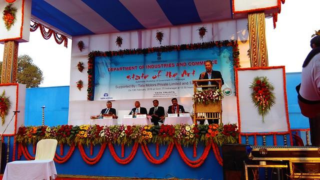 3 ITI Agartala Inauguration Function, speech given by Mr. Ranjit Barthakur, Chairman FICCI North East Advisory Council