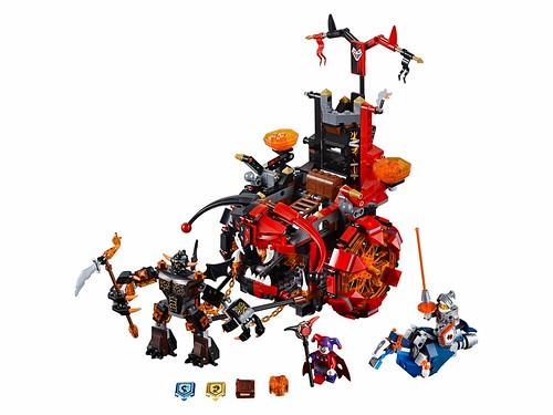 LEGO Nexo Knights 70316 Jestro's Evil Mobile 00