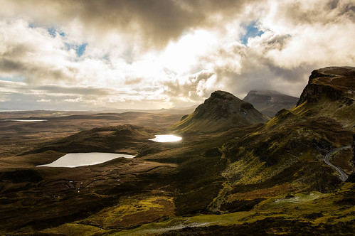 View from Quiraing, Skye