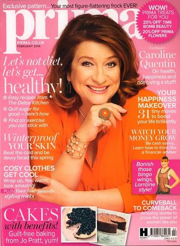 PRIMA Magazine - February 2016 - Cover
