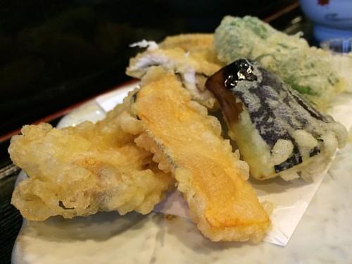 おまかせ昼御飯 小菊 野菜と穴子の天ぷら