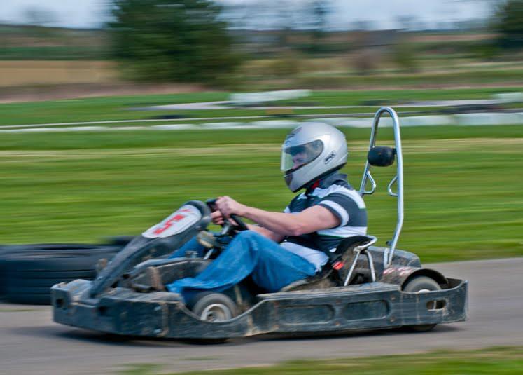 Aberdeen Go Karting for Stags - GoBananas