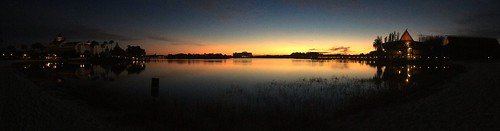 morning sky sunlight lake water sunrise reflections florida pano silhouettes panoramic disney disneyworld wdw waltdisneyworld panaramic panaroma centralflorida floridasky sevenseaslagoon lakebuenavistaflorida iphonecamera chadsparkesphotography iphonese