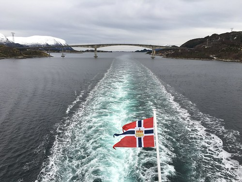 1 Mar - Sailing along Norwegian Sea