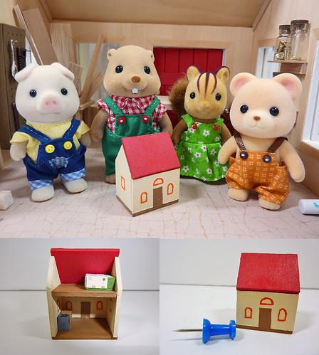 Teeny Tiny Dollhouse