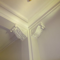 Moulding, Allegany County Courthouse