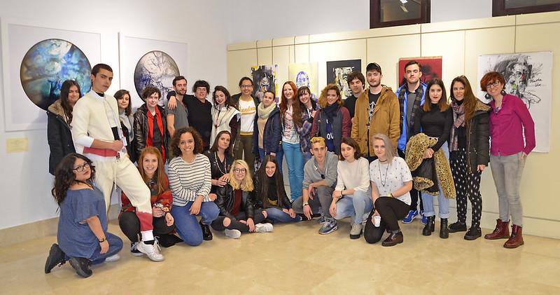 Expo 10 años de bachillerato de ARTES