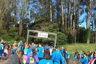 Presidio Trail Run - Trail start