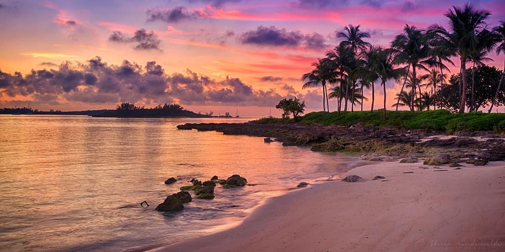 Sunrise beach bahamas