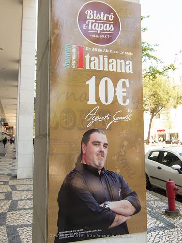 Semana Gastronómica Italiana com o Chef Augusto Gemelli