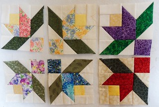 6 Summer Vine Blocks