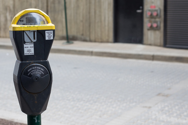 Edmonton's last coin parking meter