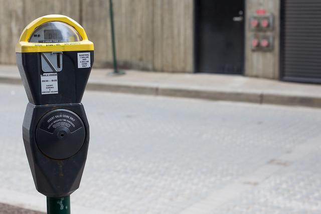 Edmonton's last coin parking meter