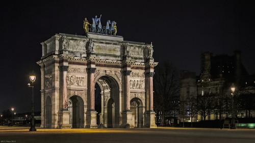 Arc du Carrousel, Paris, 2015