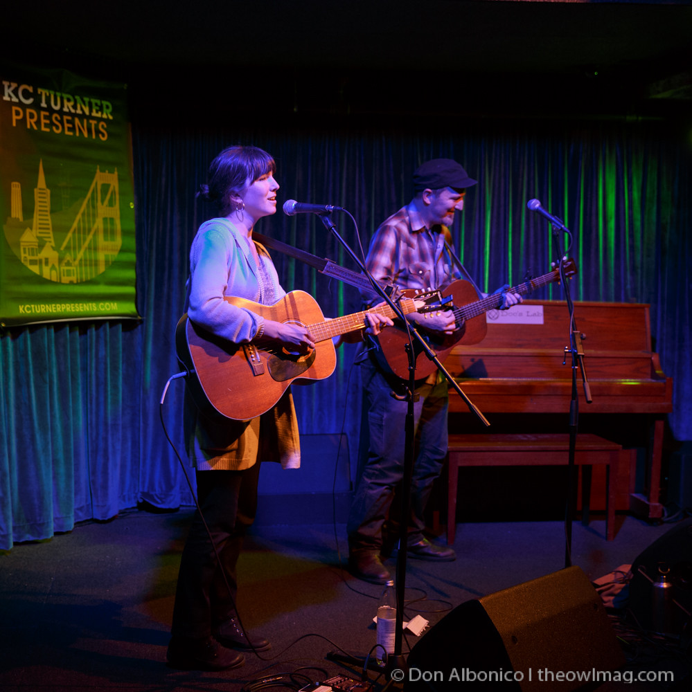 Anna Tivel & Peter Mulvey @ Doc's Lab, San Francisco 4/2/16
