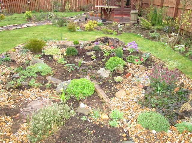 Early April Garden