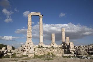 Amman Citadel - Temple of Hercules