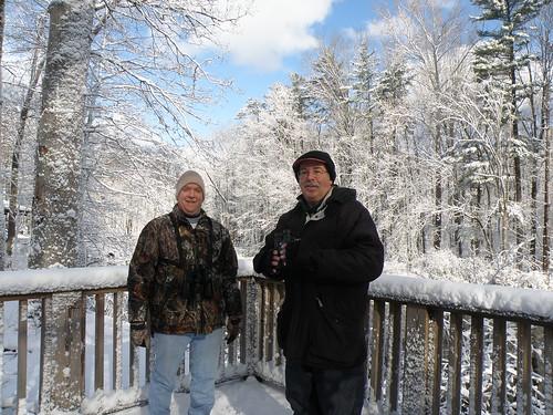 Bird Walk Leaders Dave & Bill