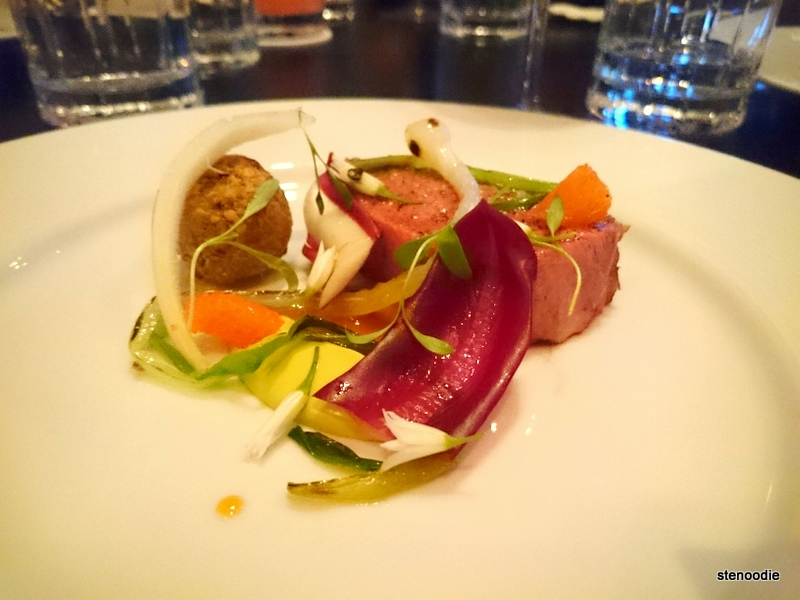 Muscovy Duck, Treviso, Cara Cara Orange, Pistachio