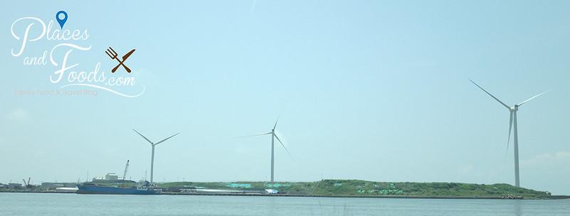 oga japan coastal wind turbines