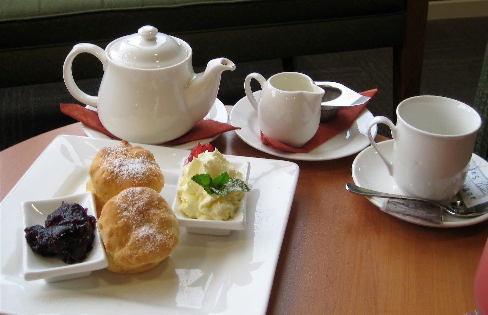 Devonshire tea. Credit Liyster
