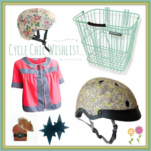 Cycle Chic Collage