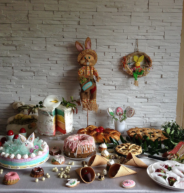 Easter table 2016 / Uskrs 2016