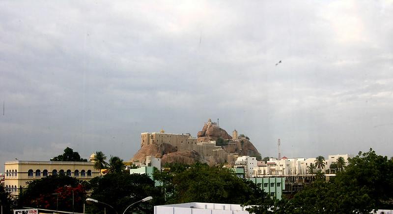 Templos hindúes de Rock Fort en Trichy