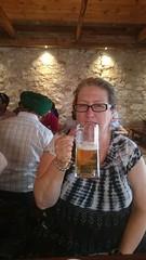 Jane at Hahndorf Bier Haus