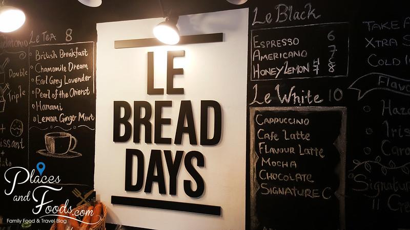 le bread days