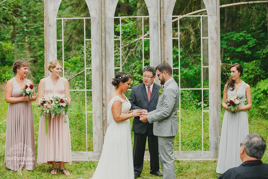 Wedding Ceremony - Prince George BC