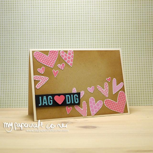 Valentine card #Card 408