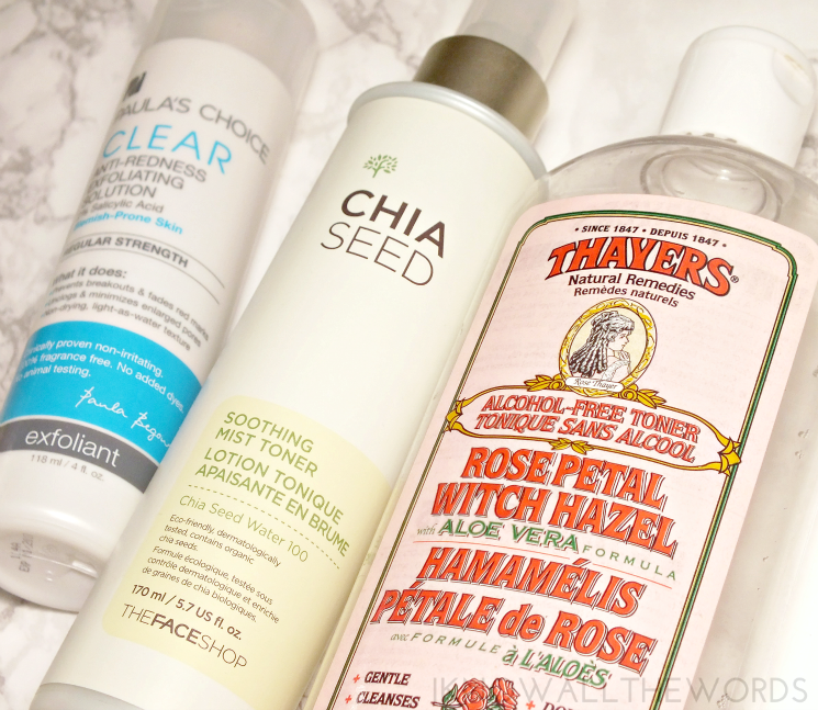 skincare saviours paula's choice, thefaceshop, thayers