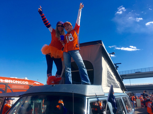 We made it to Denver at 11pm Saturday. Broncos tailgate on Sunday!