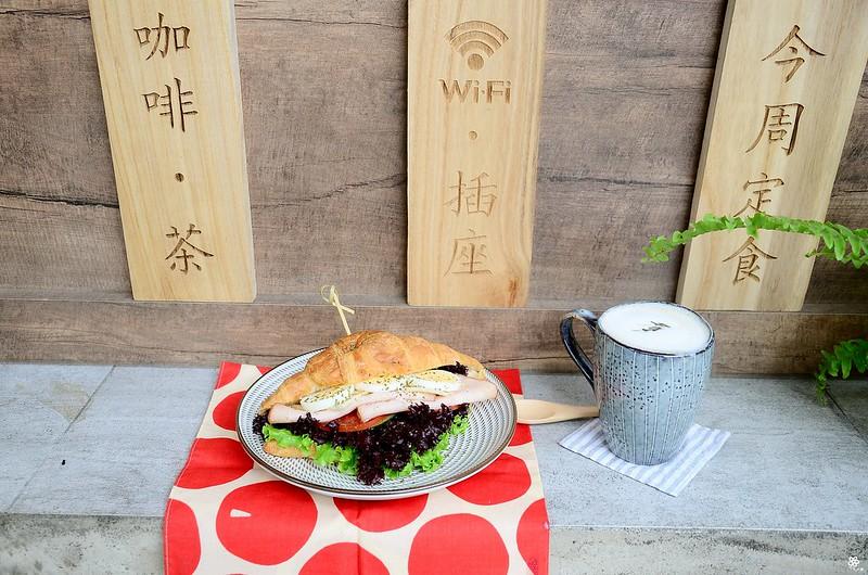 小空間板橋早午餐咖啡廳不限時推薦小倉庫菜單時間新埔 (35)