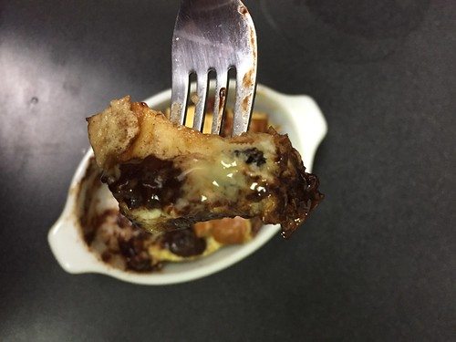 Bread pudding for one (4)