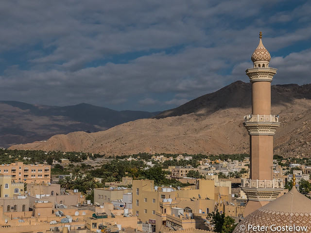 Nizwa town and mosque