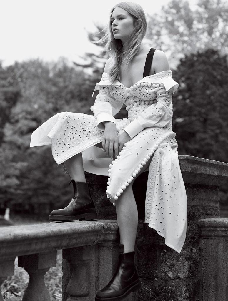 Анна Эверс — Фотосессия для «Vogue» 2016 – 7
