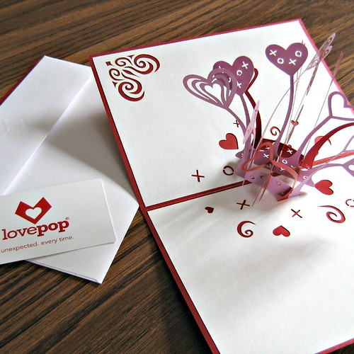 LovePop Cards - Love Explosion Inside