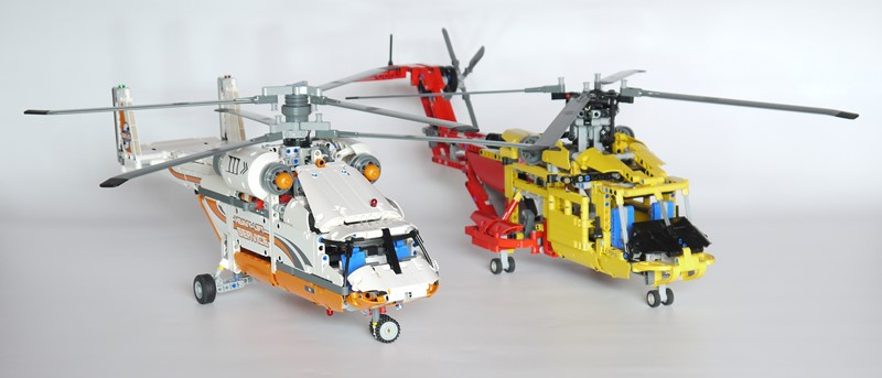 Review: 42052 Heavy Lift Helicopter   Brickset: LEGO set guide and database