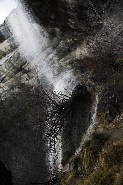 Cascada de la Mea, Puentedey