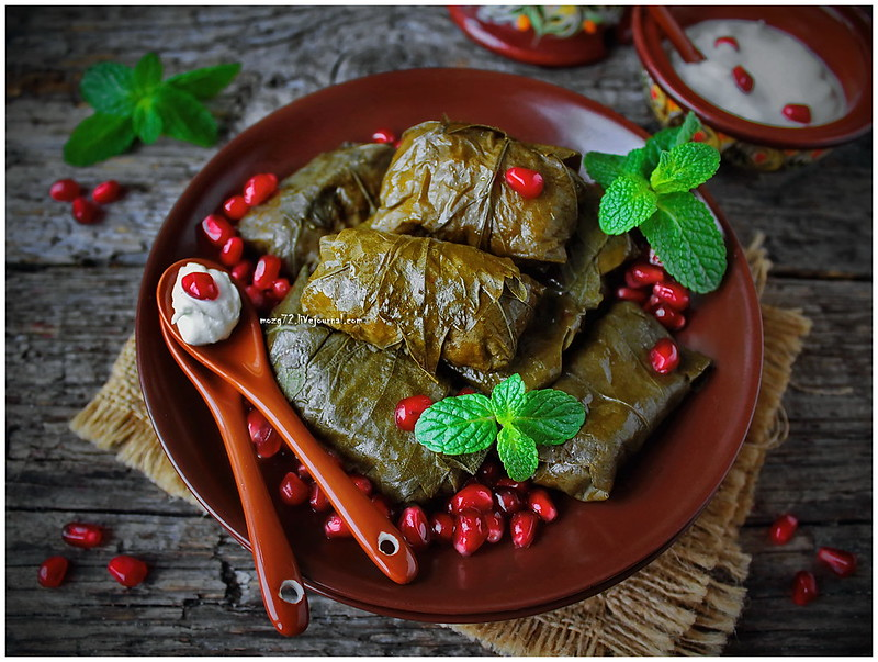 ...dolma in grape leaves_1