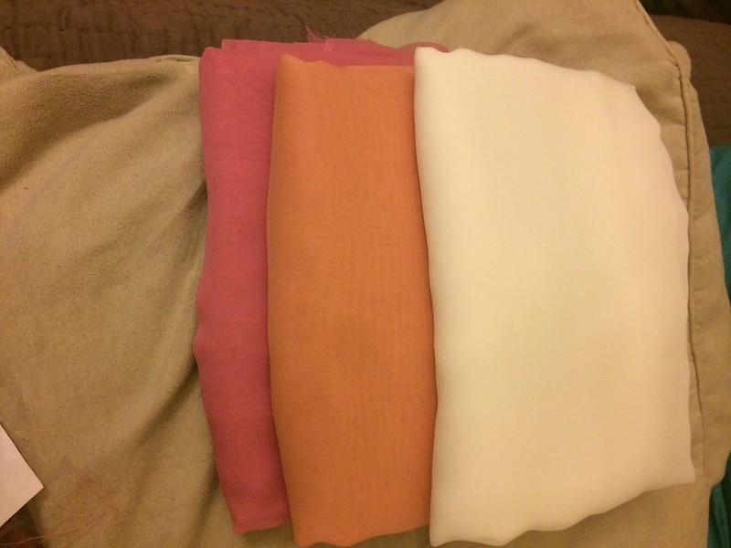 6 skirt fabric