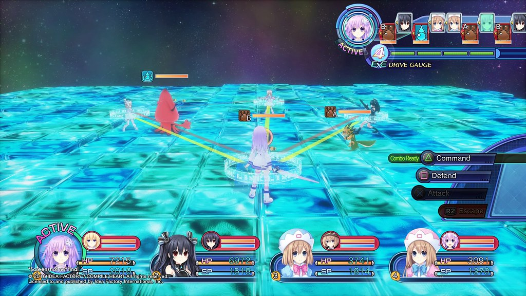 Megadimension Neptunia VII on PS4