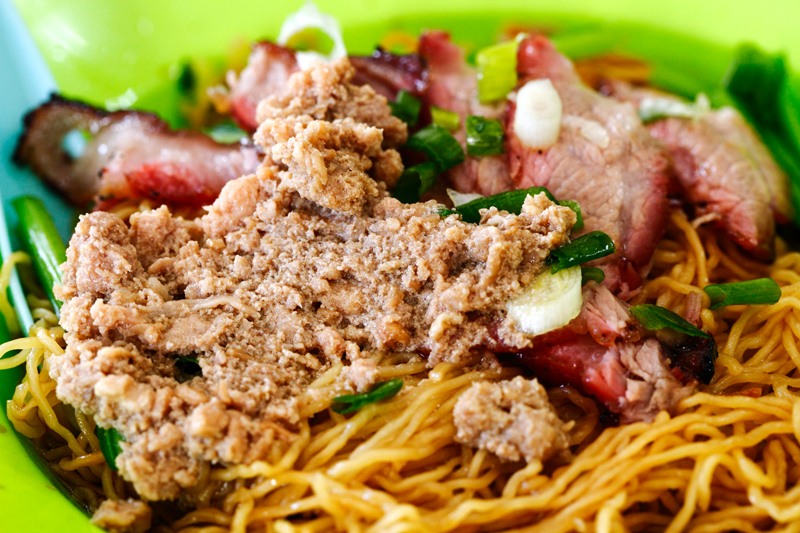 Minced Meat Wantan Mee