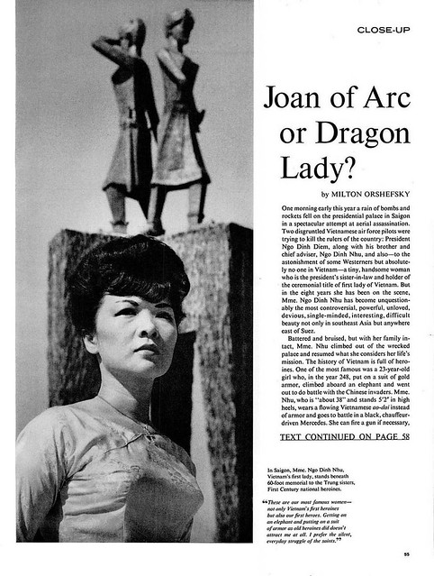 LIFE Oct 26, 1962 (1) - Joan of Arc or Dragon Lady?