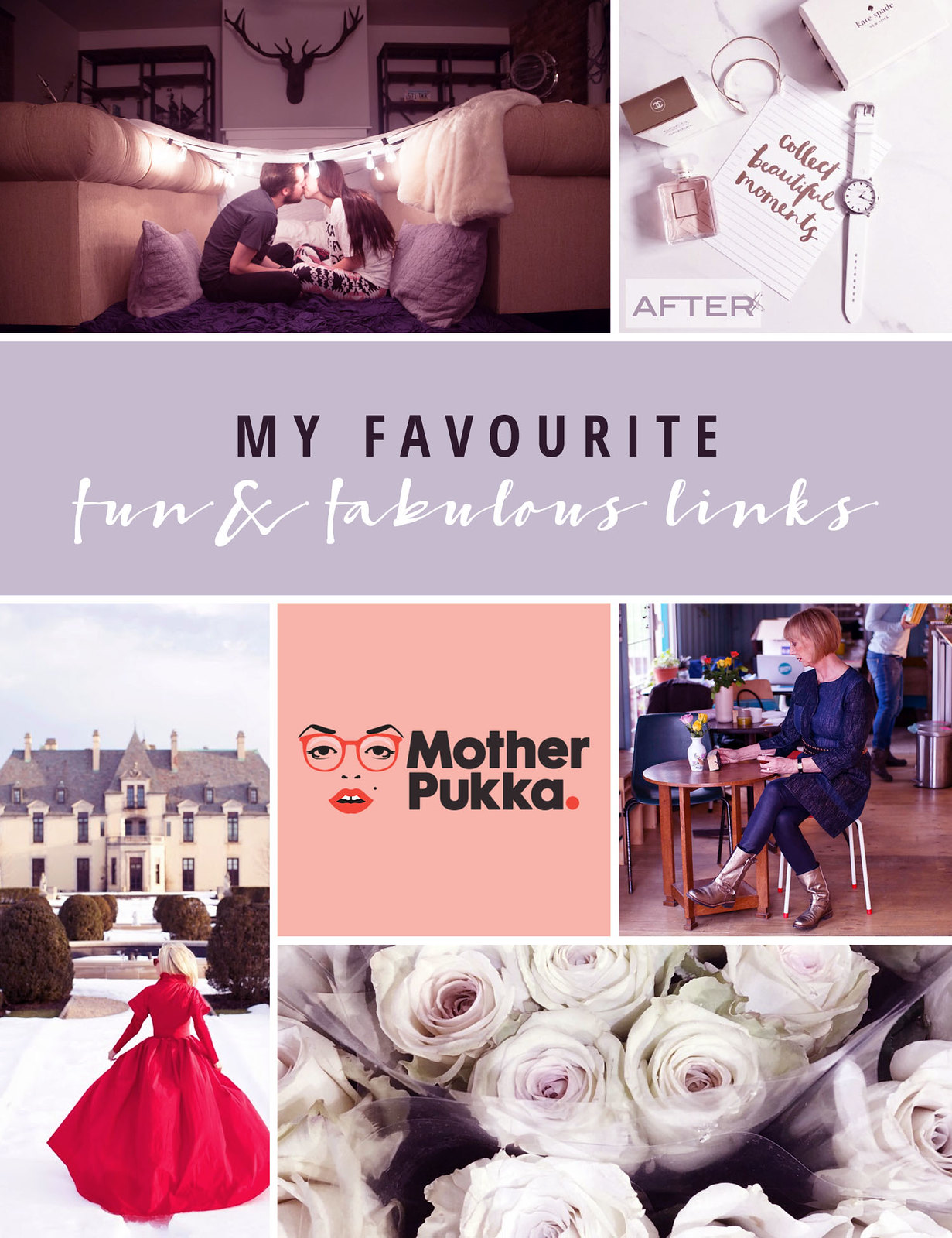 Favourite Fun & Fabulous Links February 2016 | Not Dressed As Lamb